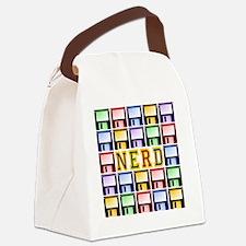 NERD_dark Canvas Lunch Bag