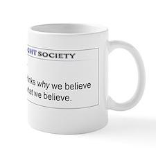 Freethinker_Definition_10x3_Sticker Mug