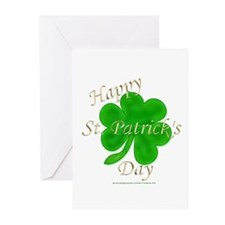 Happy St. Patrick's Day Greeting Cards (Package of