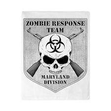 Zombie Response Team Maryland Twin Duvet