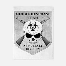 Zombie Response Team New Jersey Twin Duvet