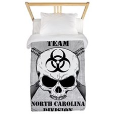 Zombie Response Team North Carolina Twin Duvet