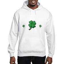 StPat FEEL LUCKY DkGreen shirt Hoodie