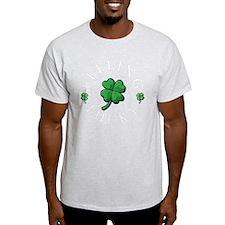 StPat FEEL LUCKY DkGreen shirt T-Shirt
