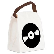 record_vinylg Canvas Lunch Bag