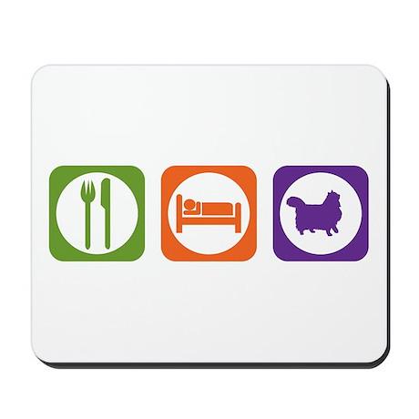 Eat Sleep Wegie Mousepad