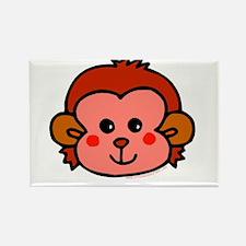 Monkey face Rectangle Magnet