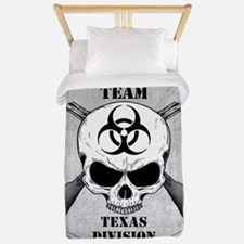 Zombie Response Team Texas Twin Duvet