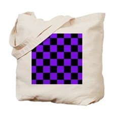 menswalletpurpcheckerboardpng Tote Bag