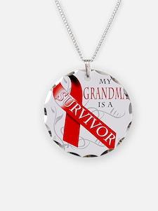 My Grandma is a Survivor Necklace