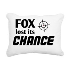 FOX lost its Chance Rectangular Canvas Pillow