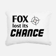 FOX lost its Chance Rectangular Canvas Pillow