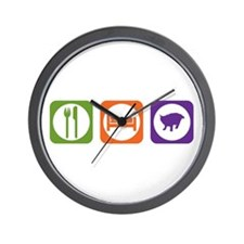 Eat Sleep Pixie-Bob Wall Clock