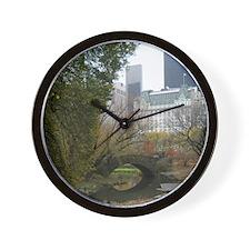 gapstowbridge_wall_calendar_fall2 Wall Clock