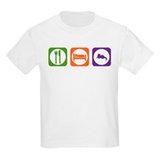 Eat Sleep Ragdoll Kids T-Shirt