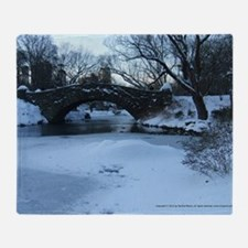 gapstowbridge_wall_calendar_winter2 Throw Blanket