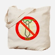 Archaeologist FAQ - No tie needed Tote Bag