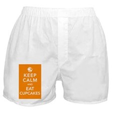 eat-cupcakes-poster Boxer Shorts