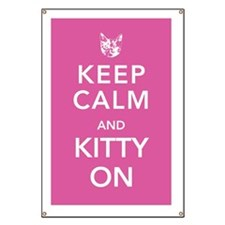 kitty-on-poster Banner