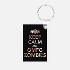 omfg-zombies-poster Keychains