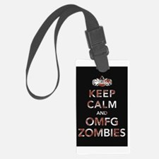 omfg-zombies-poster Luggage Tag