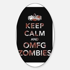 omfg-zombies-poster Decal