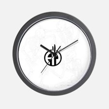 skeletonsinverted Wall Clock