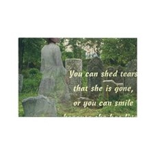 shed tears Rectangle Magnet