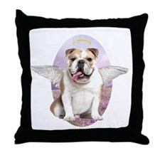 angelwithwings2 Throw Pillow