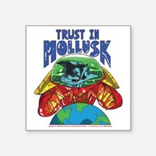 """Emperor-Mollusk-World-WT Square Sticker 3"""" x 3"""""""