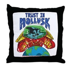 Emperor-Mollusk-World-WT Throw Pillow