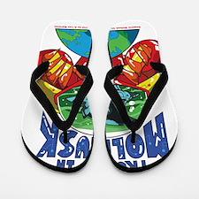 Emperor-Mollusk-World-WT Flip Flops