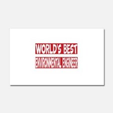 World's Best Environmental engi Car Magnet 20 x 12