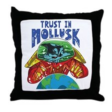 Emperor-Mollusk-World-BT Throw Pillow
