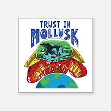 "Emperor-Mollusk-World-BT Square Sticker 3"" x 3"""