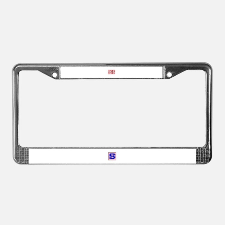 World's Best Environmental eng License Plate Frame