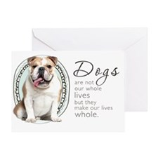 wholelives4 Greeting Card