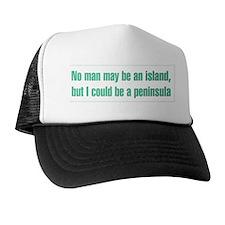 No Man Is an Island Trucker Hat