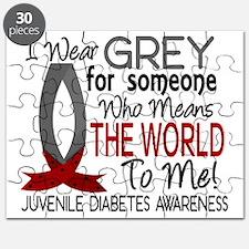 D Means The World To Me Juvenile Diabetes Puzzle