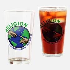 religon Drinking Glass