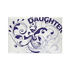 godsdaughter_purple Rectangle Magnet