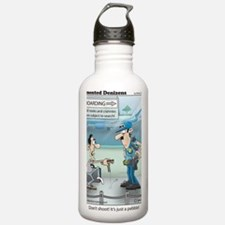 Airport Security Water Bottle