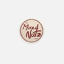 The Mixed Nutz Band Logo Mini Button