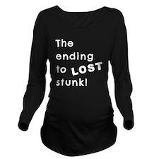 lostendingstunk Long Sleeve Maternity T-Shirt