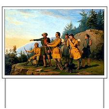 Daniel Boones First View of Kentucky, 18 Yard Sign