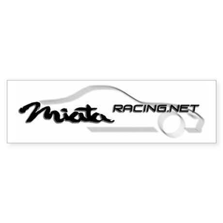 Miataracing.net Bumper Sticker