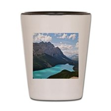 Peyto lake Shot Glass