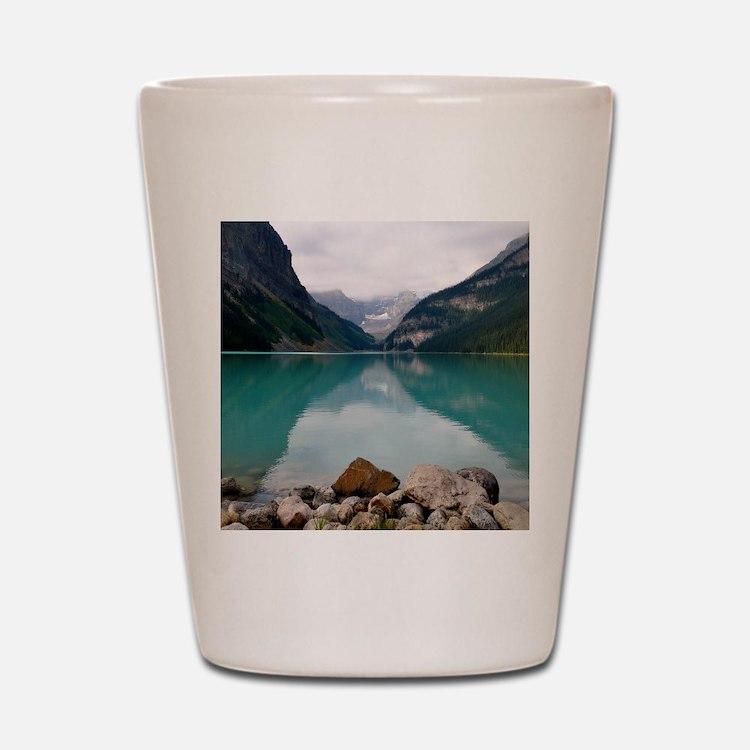 Lake Louise Shot Glass