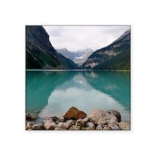 """Lake Louise Square Sticker 3"""" x 3"""""""