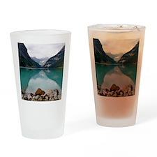 Lake Louise Drinking Glass